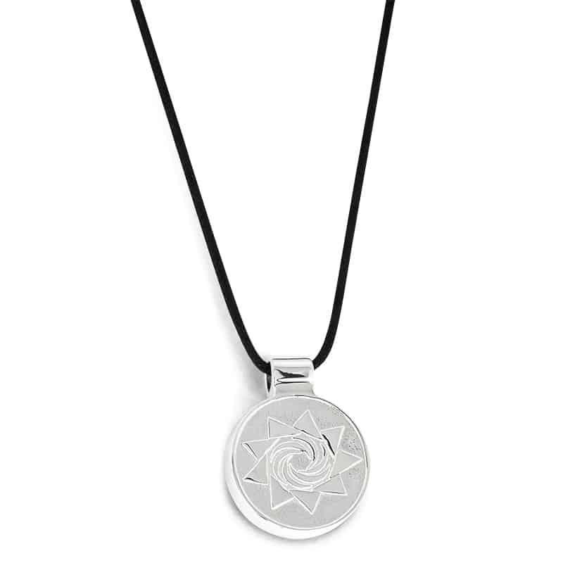 EMF Protection Pendant Evolution Silver