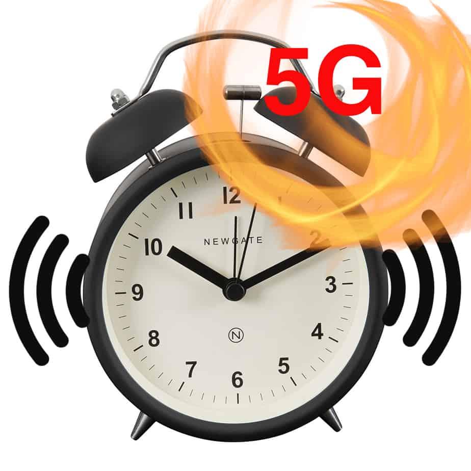 5G alarm clock